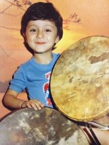 Young Avi Benedi